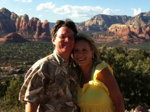 Anita & Robert in Sedona