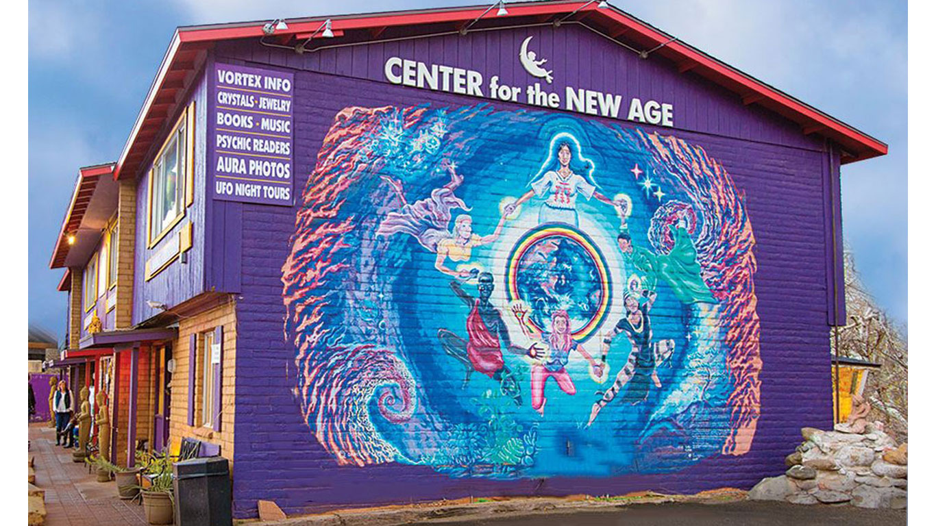 Center for the New Age- Sedona AZ, 888-881-6651 FREE
