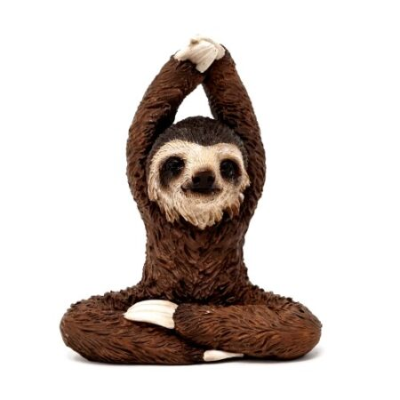 Cute Yoga Sloth Statue