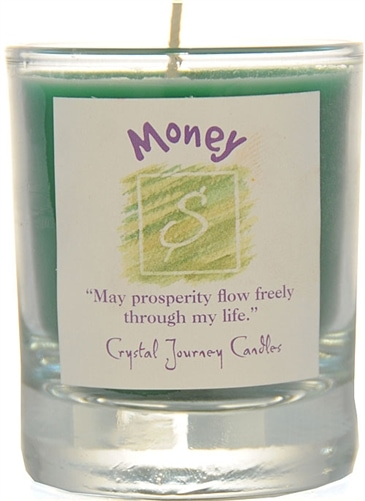 Green Soy Money Ceremonial Votive Candle