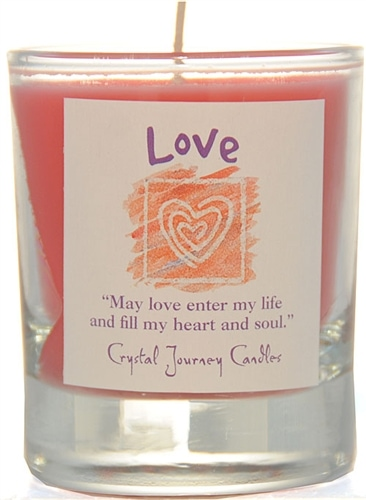 Red Soy Love Ceremonial Votive Candle