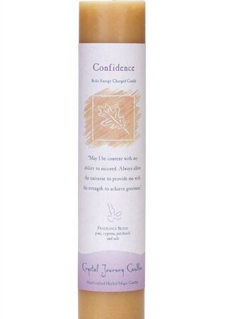 Tan Soy Confidence Ceremonial Pillar Candle